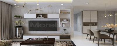 Thiết kế nội thất căn hộ chung cư Garden Gate - Quận Phú Nhuận