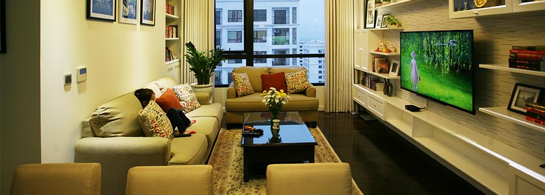 Thi công nội thất chung cư Timescity - Nhà Chị Nguyệt