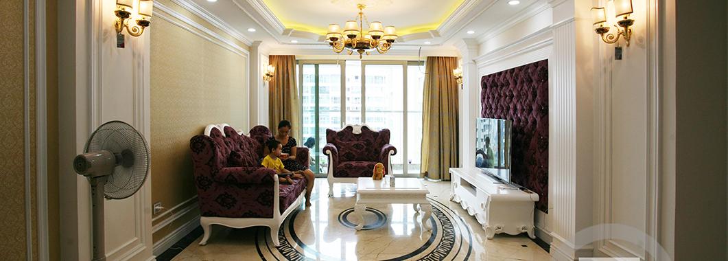 Thi công nội thất chung cư cao cấp - Nhà Anh Hùng