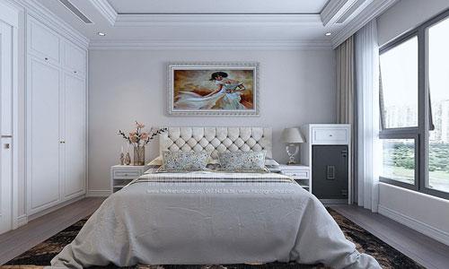 Thiết kế và thi công nội thất phòng ngủ chung cư Times City