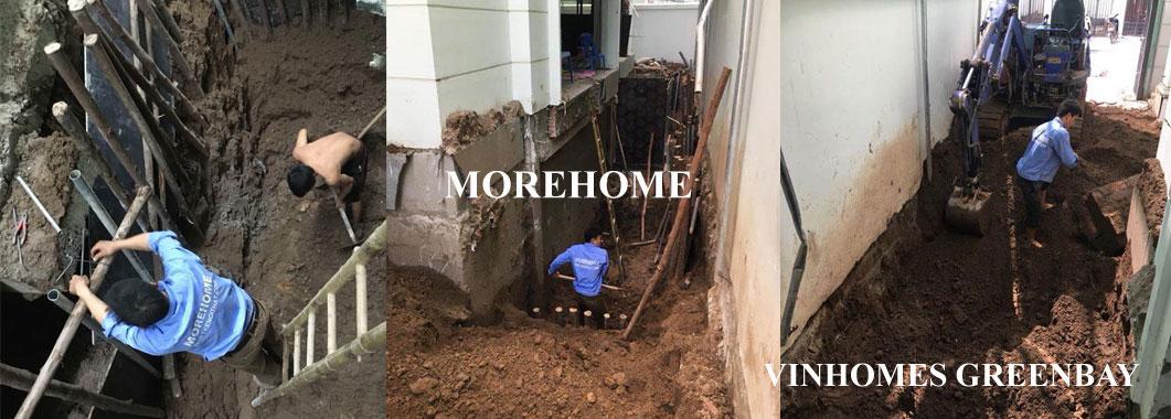Bắt đầu khởi công xây dựng biệt thự Vinhomes GreenBay