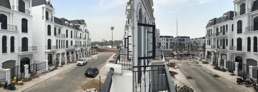 Bắt đầu khởi công thi công xây dựng biệt thự Vinhomes hải Phòng