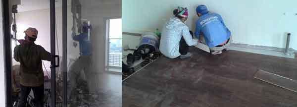 Thi công nội thất chung cư Imperia Garden B2805 26/07/2017