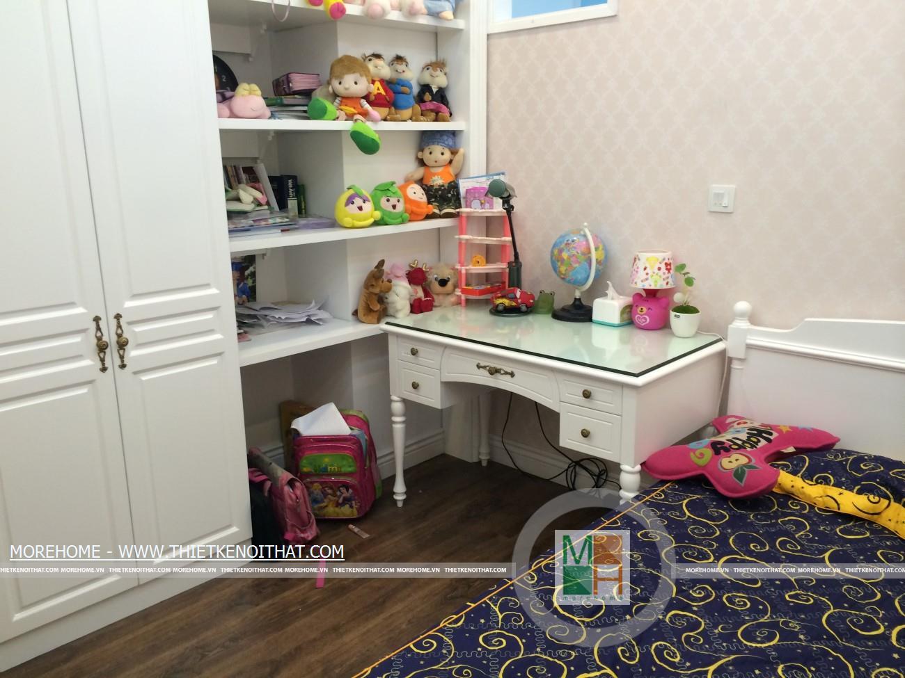 thi công phòng ngủ trẻ em